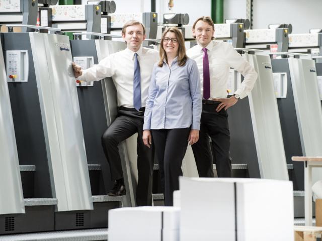 Druckerei Esslinger investiert